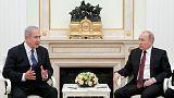 نتنياهو يلتقي الرئيس الروسي في موسكو يوم الخميس