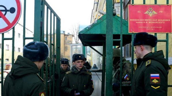 Russie: quatre militaires blessés dans l'explosion d'un engin non identifié