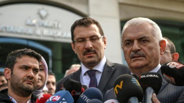 Municipales en Turquie : le parti d'Erdogan fait appel à Istanbul et Ankara