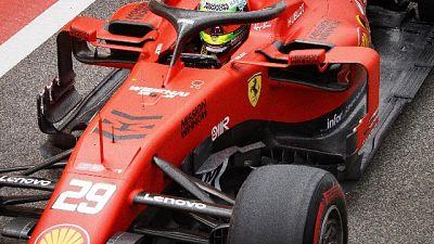 F1: grande esordio Schumi Jr in Ferrari