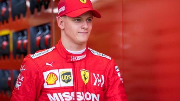 F1: Mick Schumacher a fait ses premiers tours au volant de la Ferrari