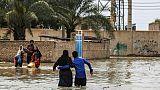 Déjà sous l'eau, l'Iran se prépare à de nouvelles inondations