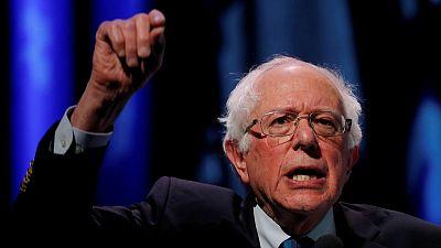 Bernie Sanders raises $18.2 million for White House run, takes fundraising lead
