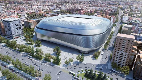 Real Madrid unveil plans for 'digital stadium of the future'