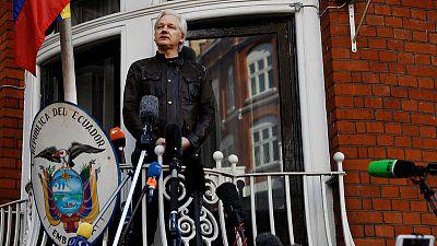 Ecuadorean president says Assange violated asylum terms -local media