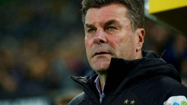 Gladbach to part ways with coach Hecking at season end