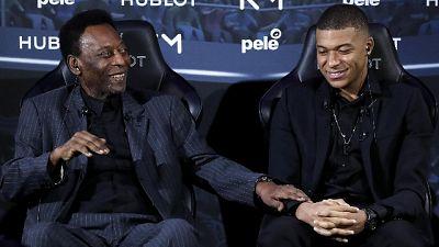 Pelé a Parigi 'Mbappé mi assomiglia'