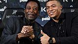 """Pelé à l'AFP: """"C'est possible"""" pour Mbappé d'atteindre les 1000 buts"""