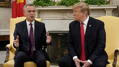 Trump says NATO countries burden-sharing improving, wants more