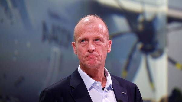 Airbus CEO Enders' 'golden parachute' excessive - French finance minister