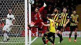 هبوط فولهام من الدوري الإنجليزي الممتاز بعد الهزيمة أمام واتفورد