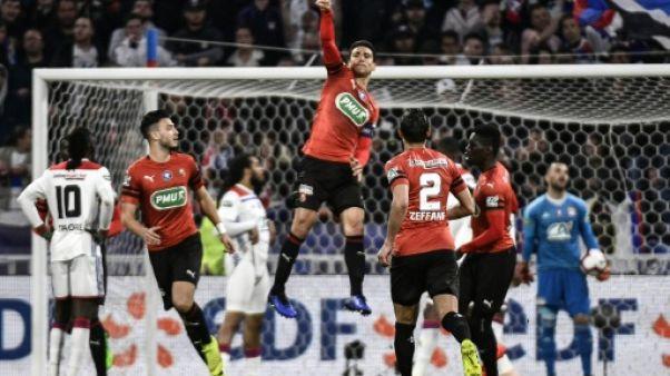 Coupe de France: Rennes prive Lyon de la finale en plein feuilleton Genesio