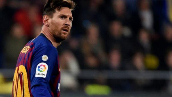 Espagne: improbable nul du Barça, l'Atlético grignote avant le choc