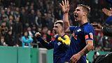 لايبزيج يصعد لقبل نهائي كأس ألمانيا بهدف قاتل في الدقيقة 120