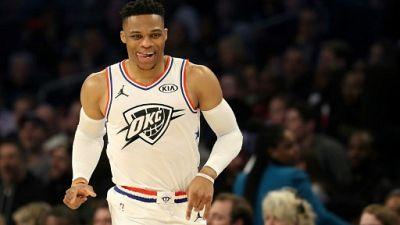 NBA: historique double-triple-double signé Westbrook, dédié au rappeur Hussle