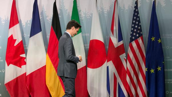 In Trump times, agreeing to disagree becomes norm at G7 meetings