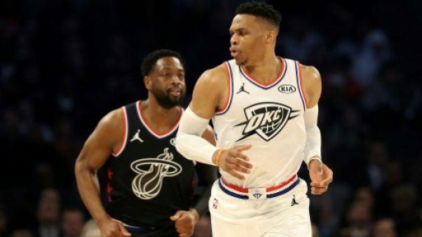 NBA: Westbrook égale Wilt Chamberlain avec un double-triple-double