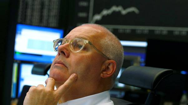 European shares climb for fourth day on trade optimism, China data