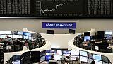 أسهم أوروبا ترتفع لليوم الرابع بفضل تفاؤل التجارة وبيانات الصين