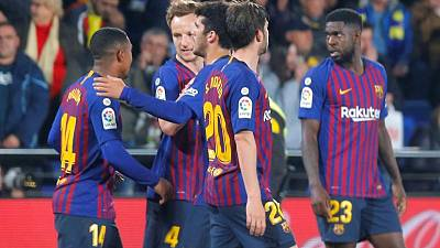 Barca reliance on Messi underlined in escape act at Villarreal