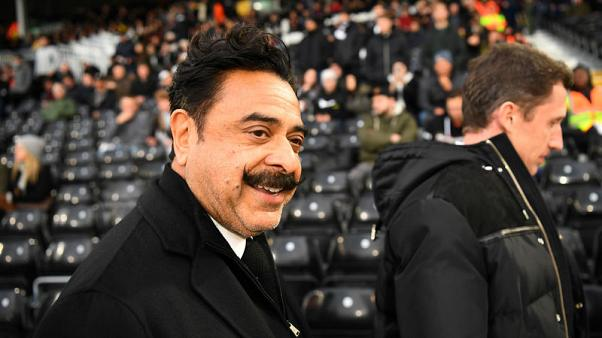 Fulham owner Khan apologises to fans after relegation to second tier