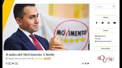 Europee: M5S vuole 'referendum europeo'