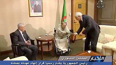 Algeria's caretaker rulers face unrelenting demands for wider change after Bouteflika quits