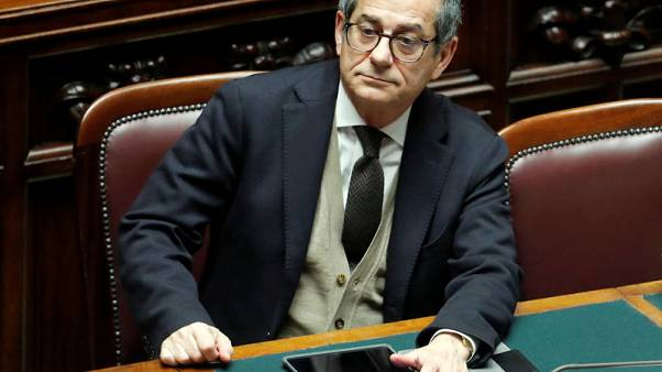 Italy PM denies Tria could quit over 5-Star attacks