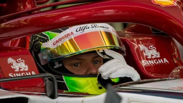 F1: Mick Schumacher a poursuivi son apprentissage avec Alfa Romeo Racing