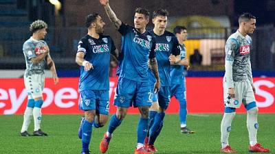 Colpo Empoli, Napoli ko 2-1