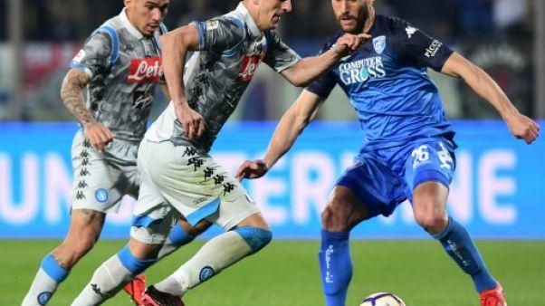 Italie: Naples battu, la Juventus à un pas du titre