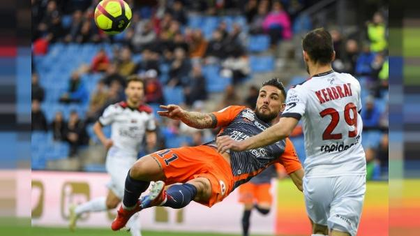 Ligue 1: Montpellier enfonce Guingamp et se relance