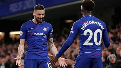 Chelsea beat Brighton 3-0 to bolster Champions League hopes