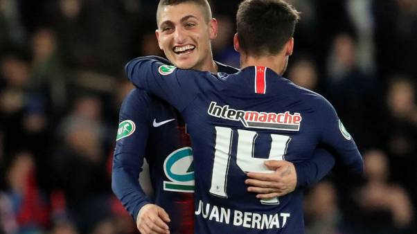 PSG reach French Cup final as Verratti nets rare goal