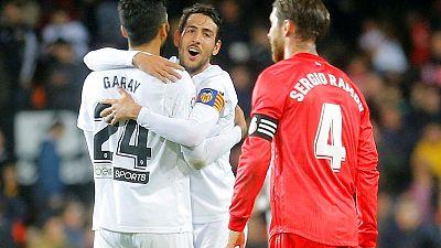 Resurgent Valencia inflict ninth La Liga defeat on Real Madrid