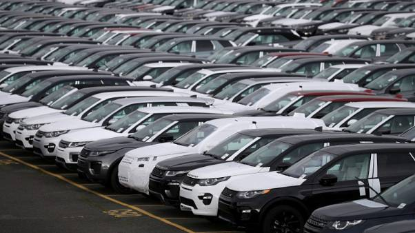UK new car sales fall around 3 percent in March - preliminary data