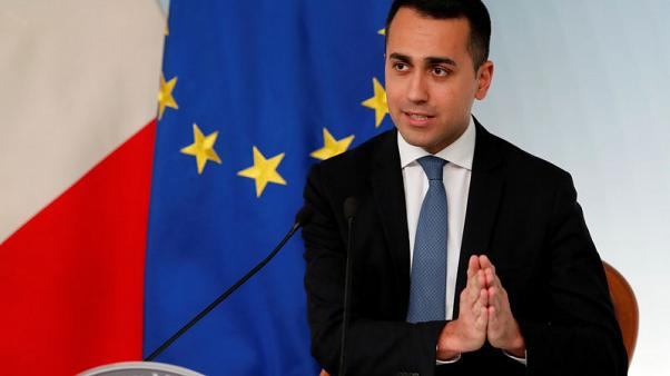 Italy's Di Maio says not seeking to replace economy minister