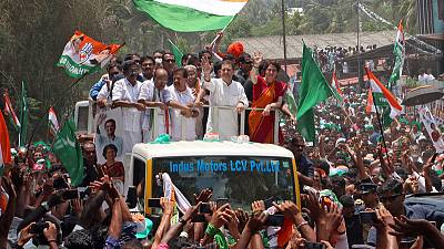 Rahul Gandhi files election candidacy from India's south in bid to stop Modi