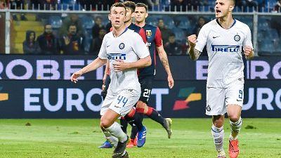 Icardi festeggia,'forza Inter!'