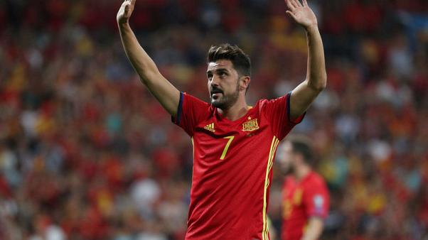 Spanish great Villa out to make more history in Japan