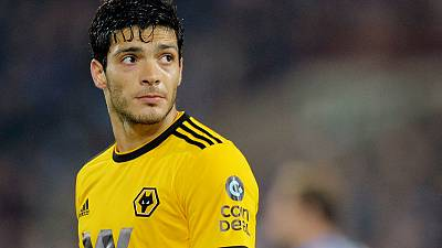 Wolves sign striker Jimenez on four-year contract