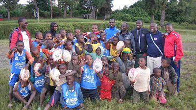 Burundi: Tournoi de rugby des enfants lors de la journee internationale de sport (le 6/4/2019)