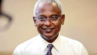 Maldives president hoping for election majority to probe China deals