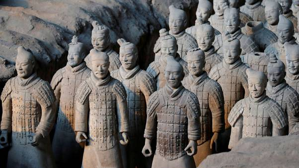 Scientists solve mystery of pristine weapons of China's Terracotta Warriors