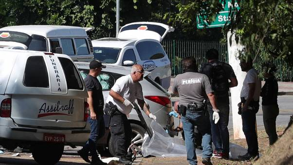 Brazil police kill 11 suspects who tried to blow up bank ATMs