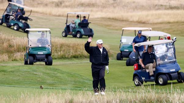 Author of Trump golf book describes president as loose with the rules