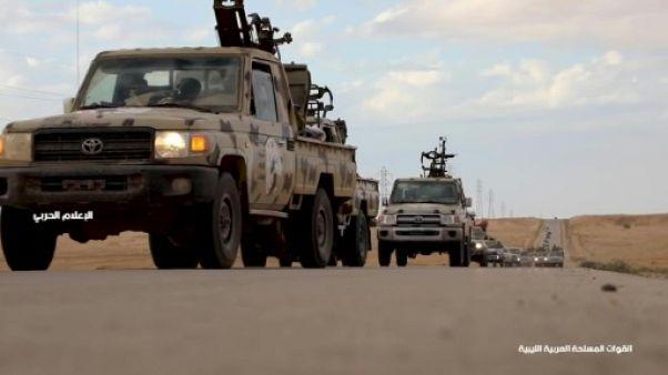 Libye: des forces pro-Haftar à moins de 30 km de Tripoli
