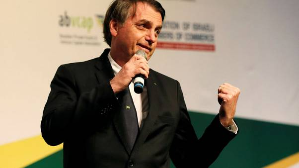Brazil's Bolsonaro sees pension bill approval after meeting party leaders