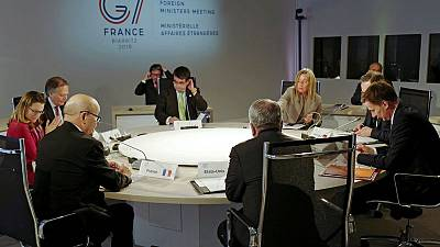 G7 foreign ministers interrupt talks to warn against advance on Tripoli