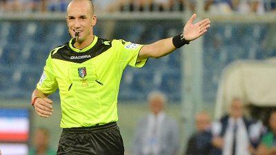 Juventus-Milan, l'arbitro è Fabbri